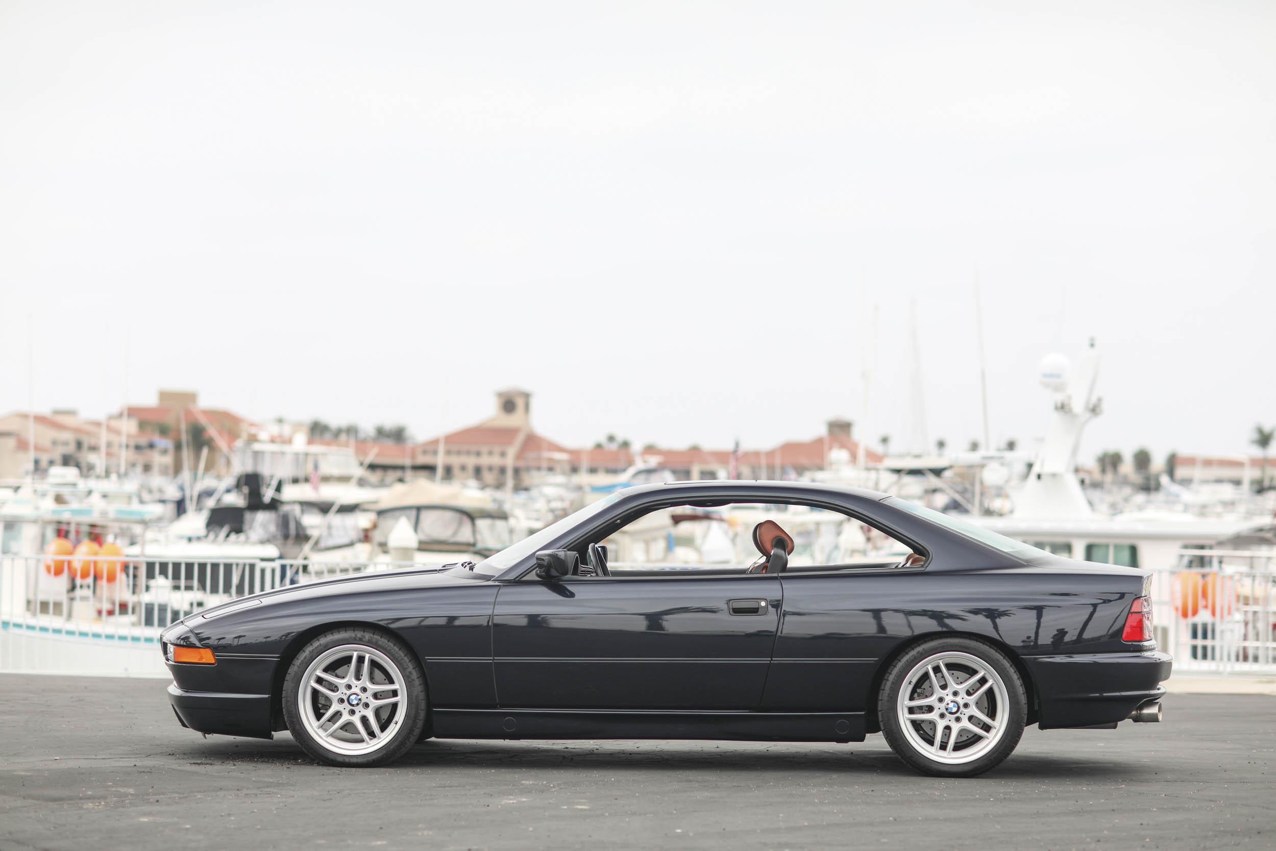 1993 BMW 850Ci profile