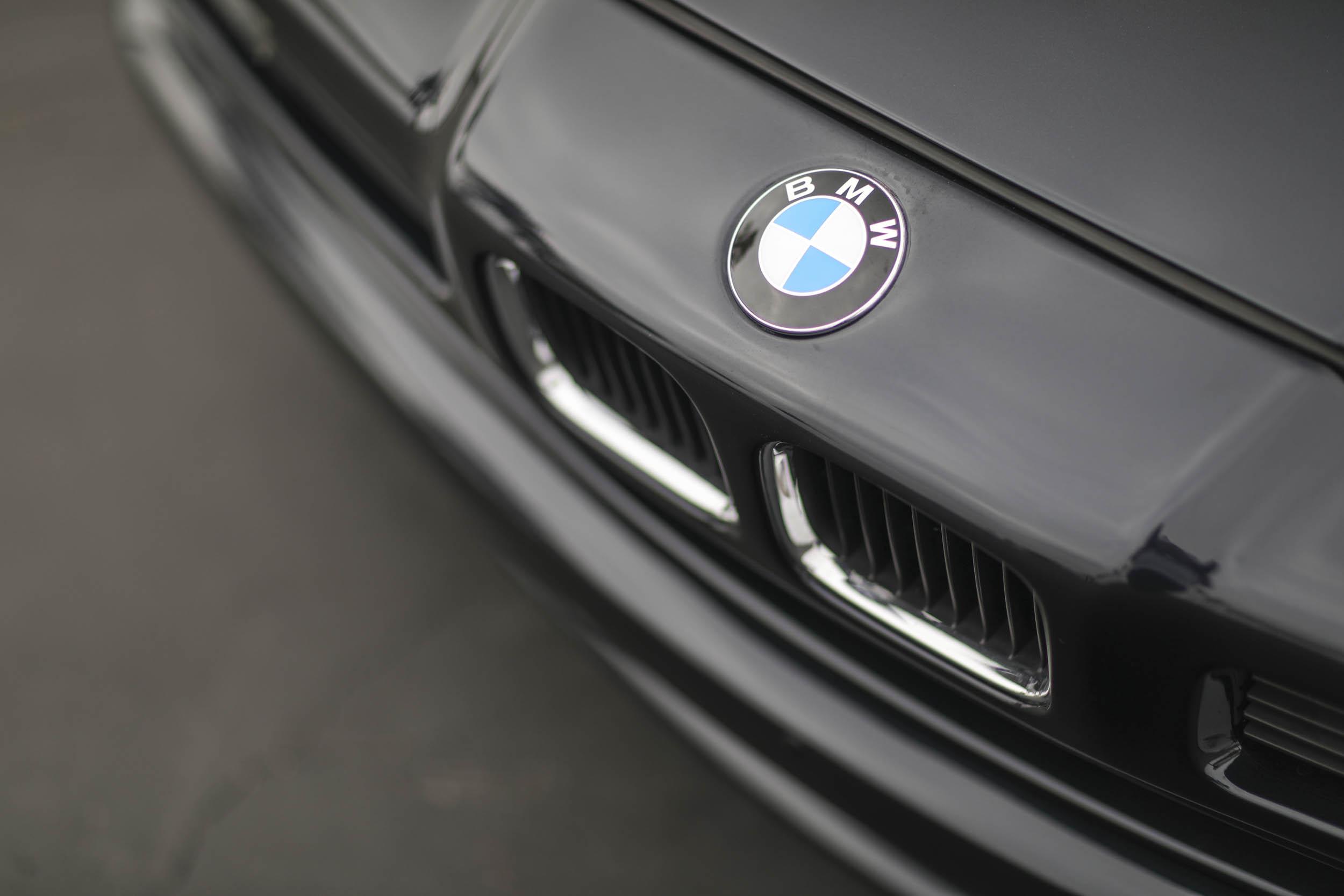1993 BMW 850Ci nose detail
