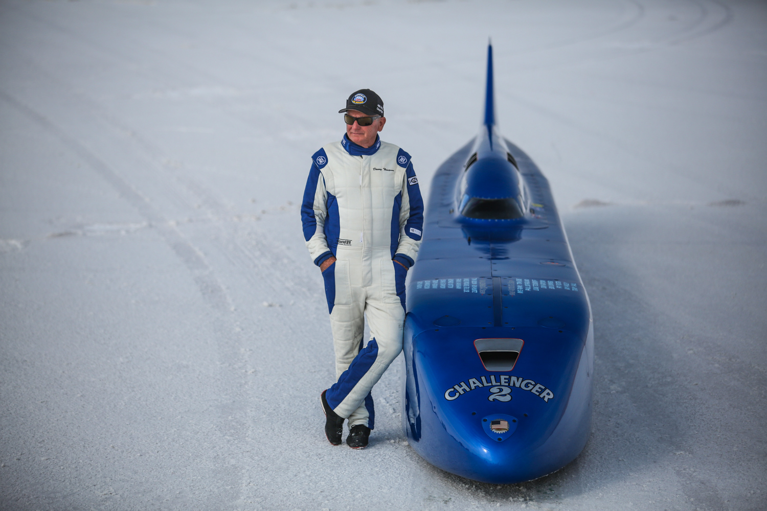 Challenger 2 salt flats with danny thompson