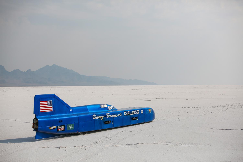 Challenger 2 land speed car
