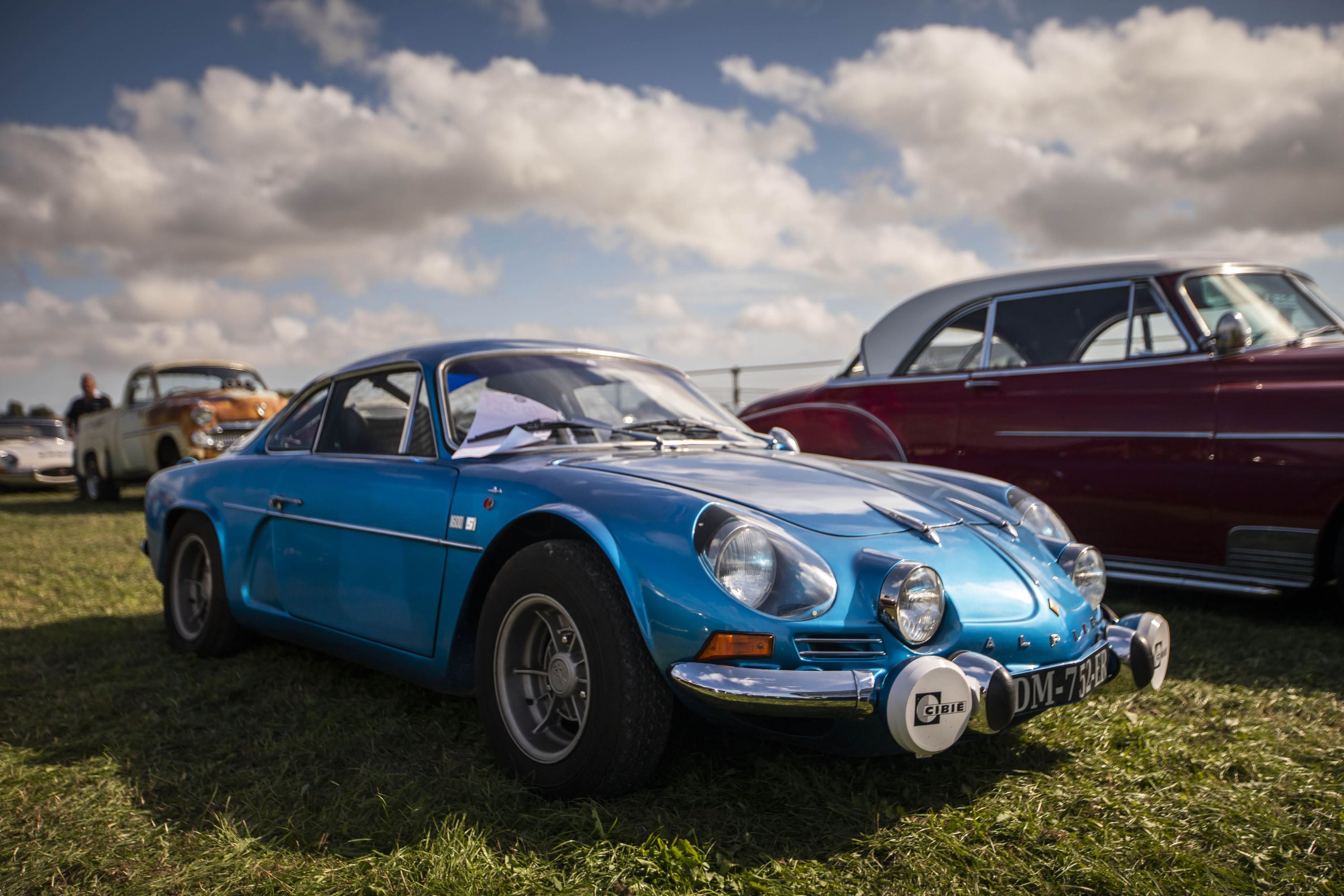 old Renault Alpine A110