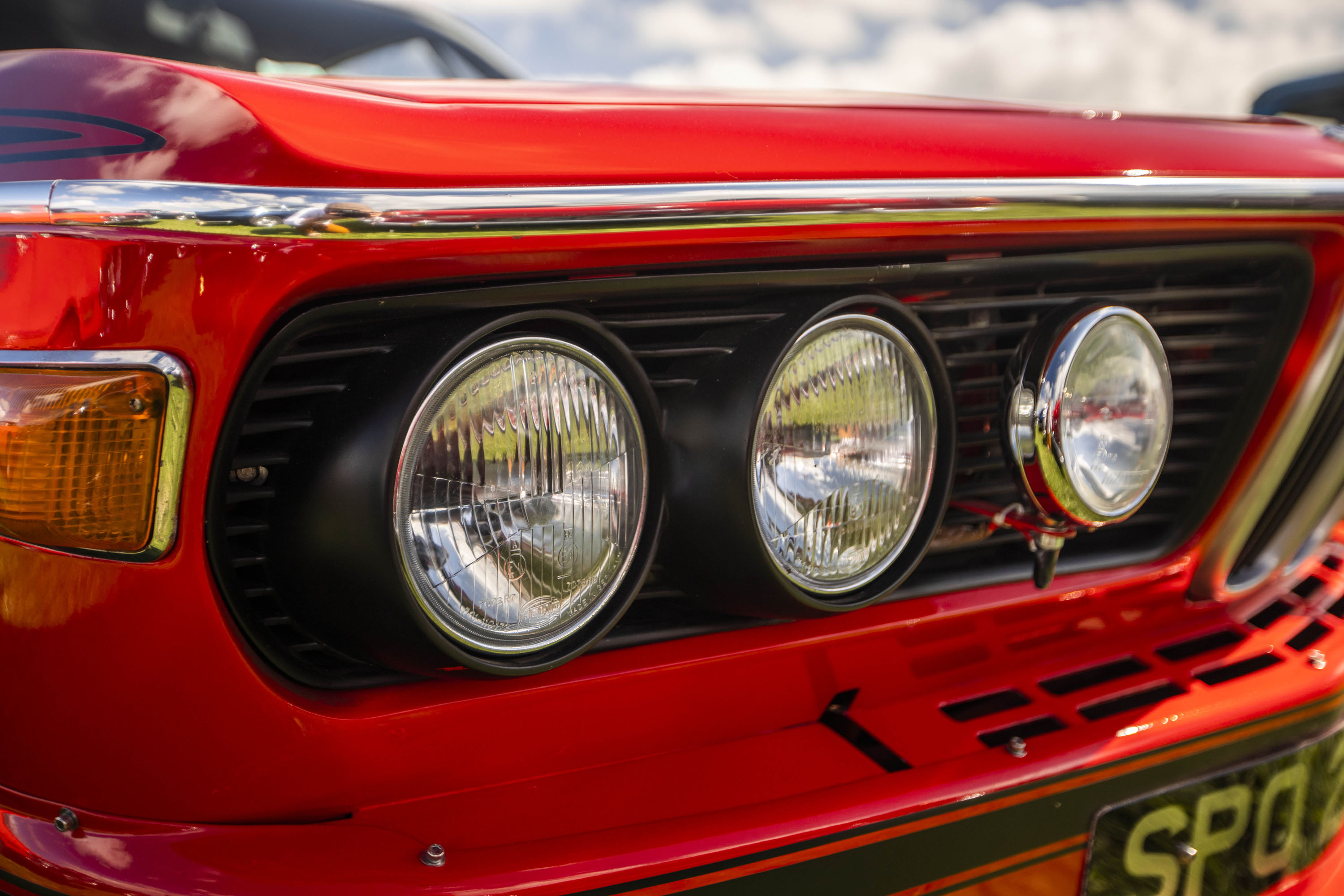 BMW 3.0 CSL headlights