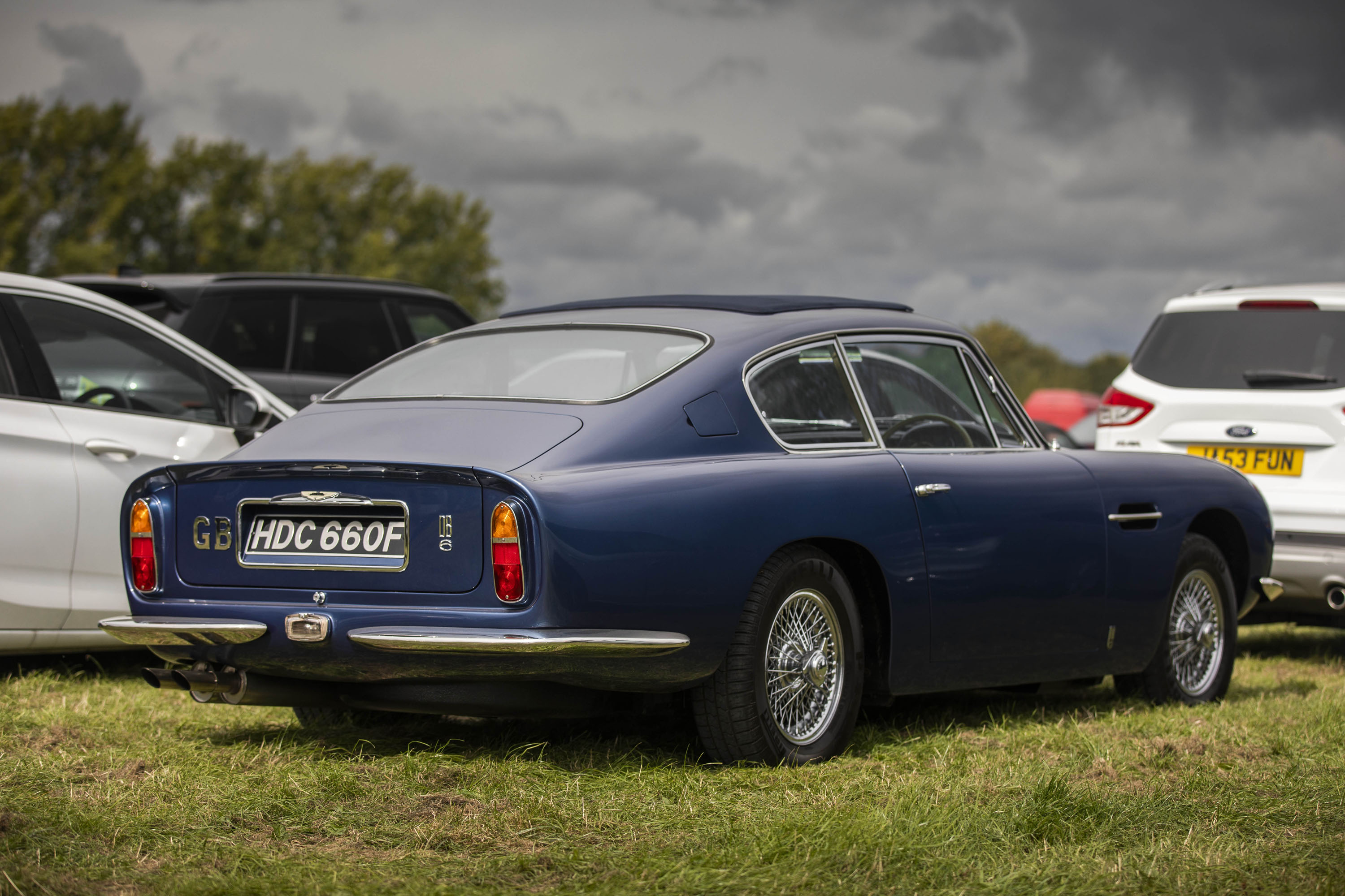 Aston Martin DB6 rear 3/4