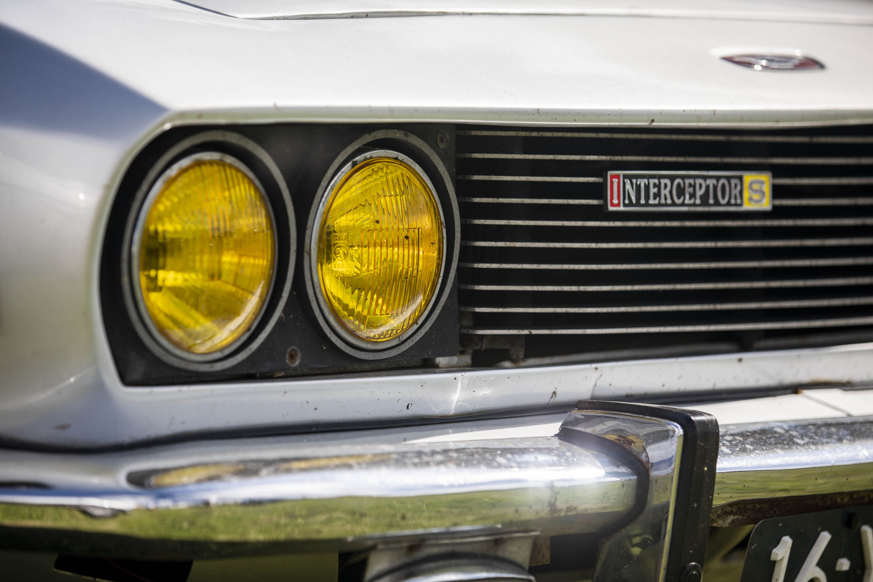 Jensen Interceptor grille