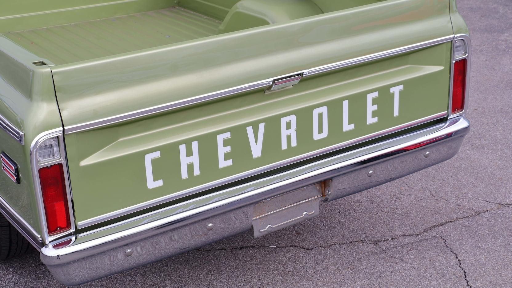 1970 Chevrolet C10 tailgate