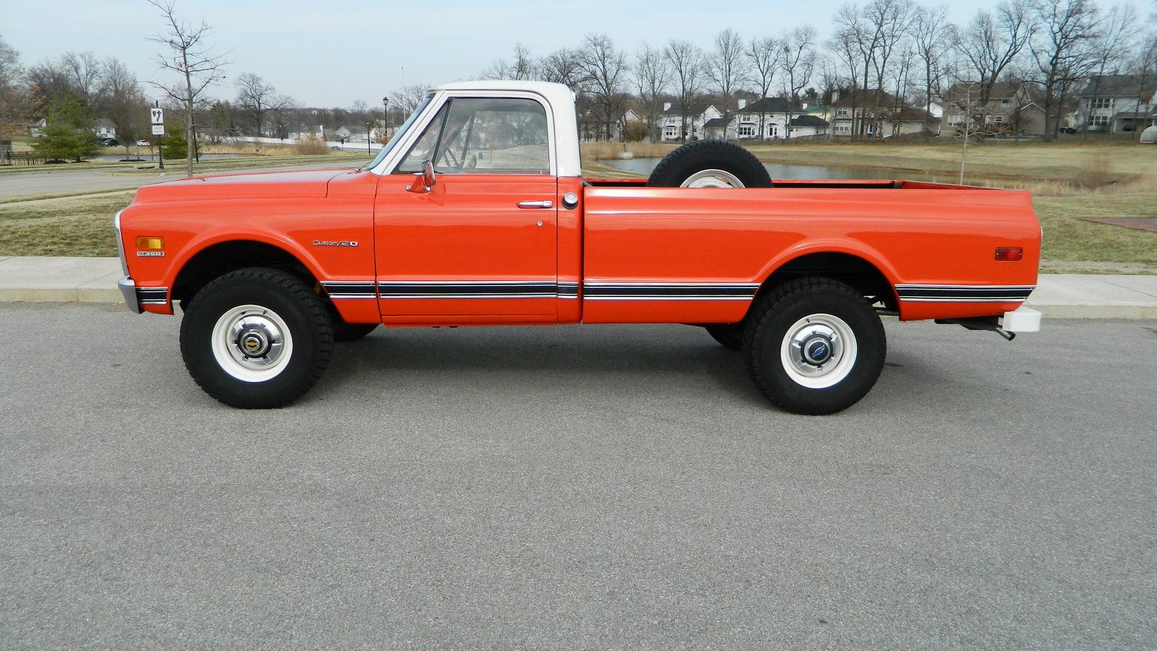 1970 Chevrolet K20 profile