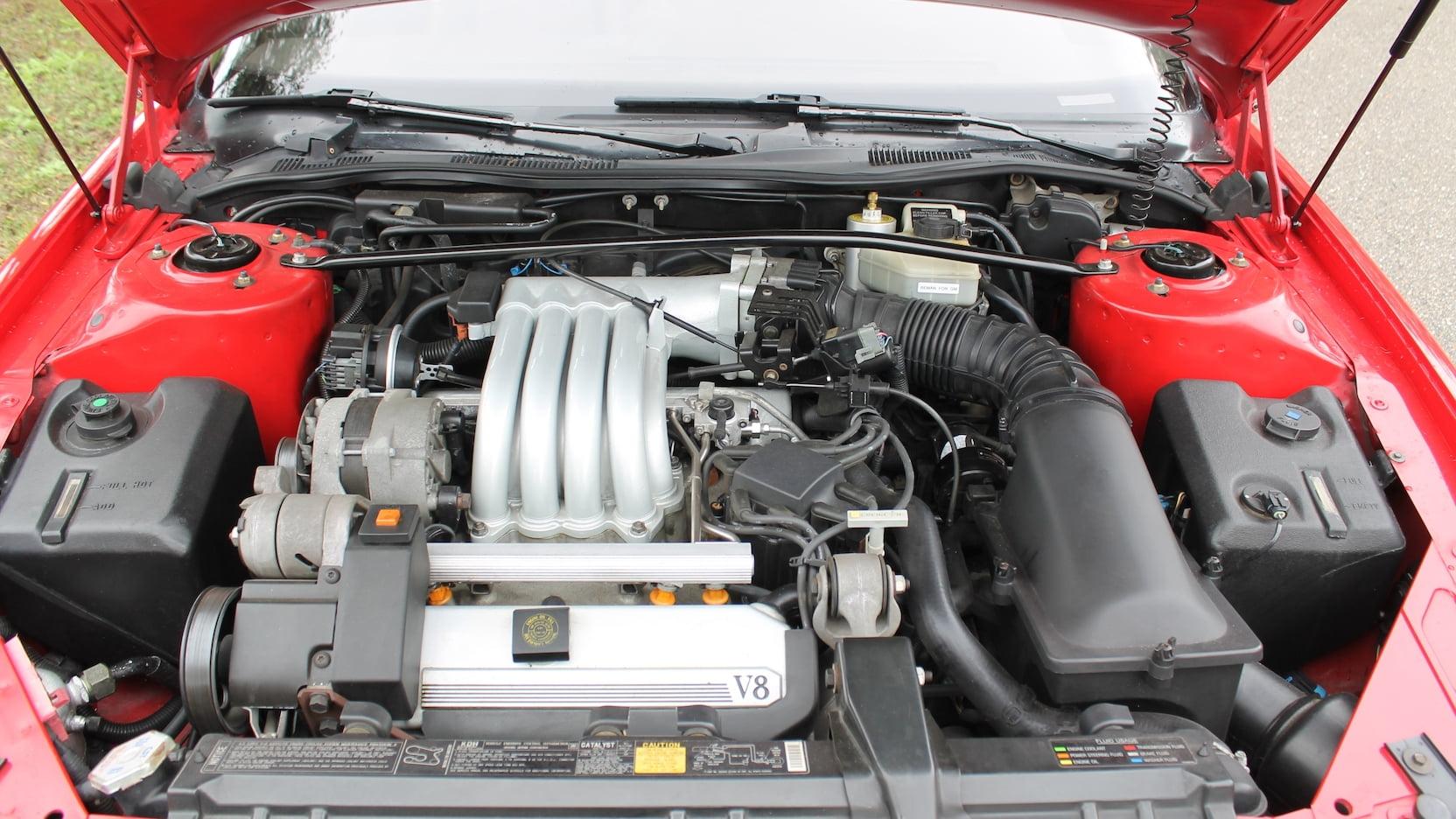 1992 Cadillac Allante engine