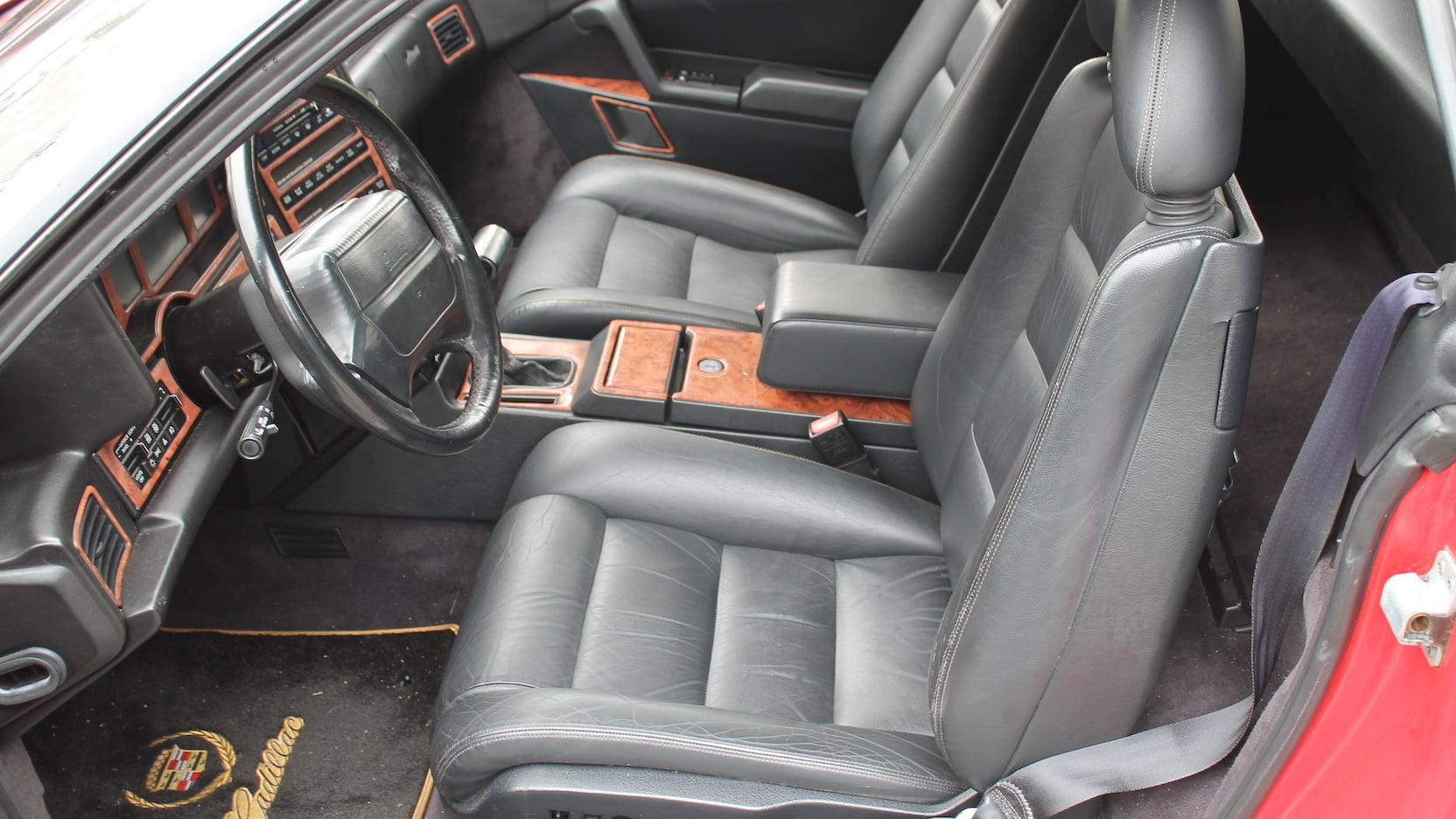 1992 Cadillac Allante interior