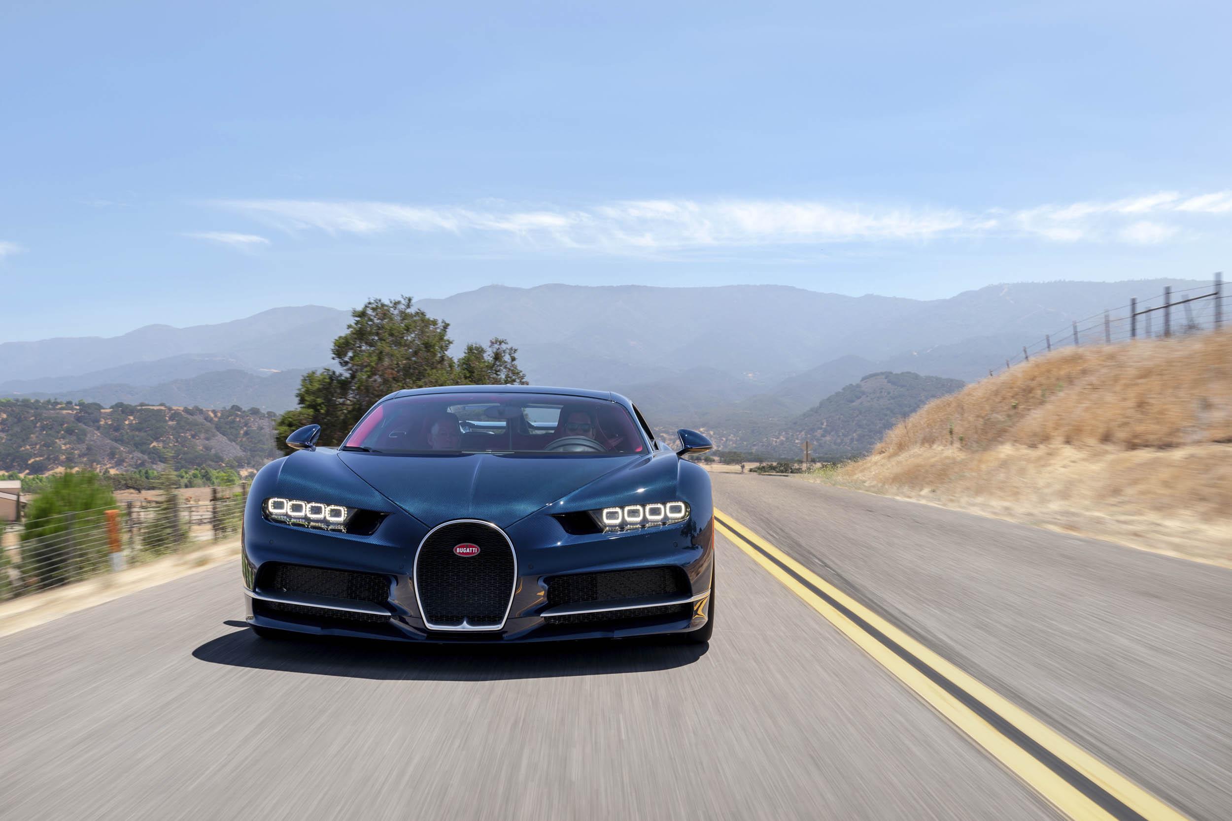 2018 Bugatti Chiron front