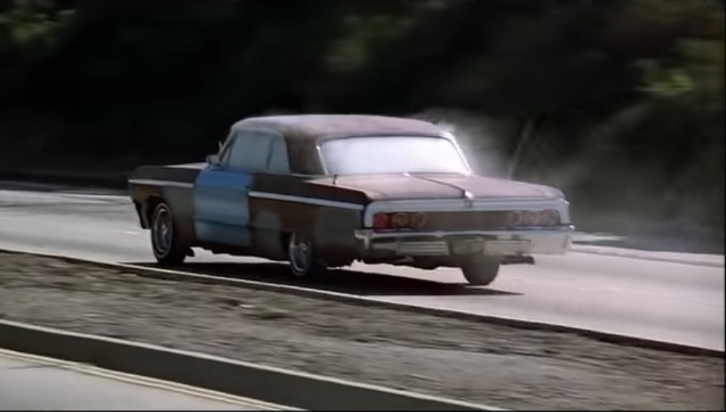 up in smoke impala on highway