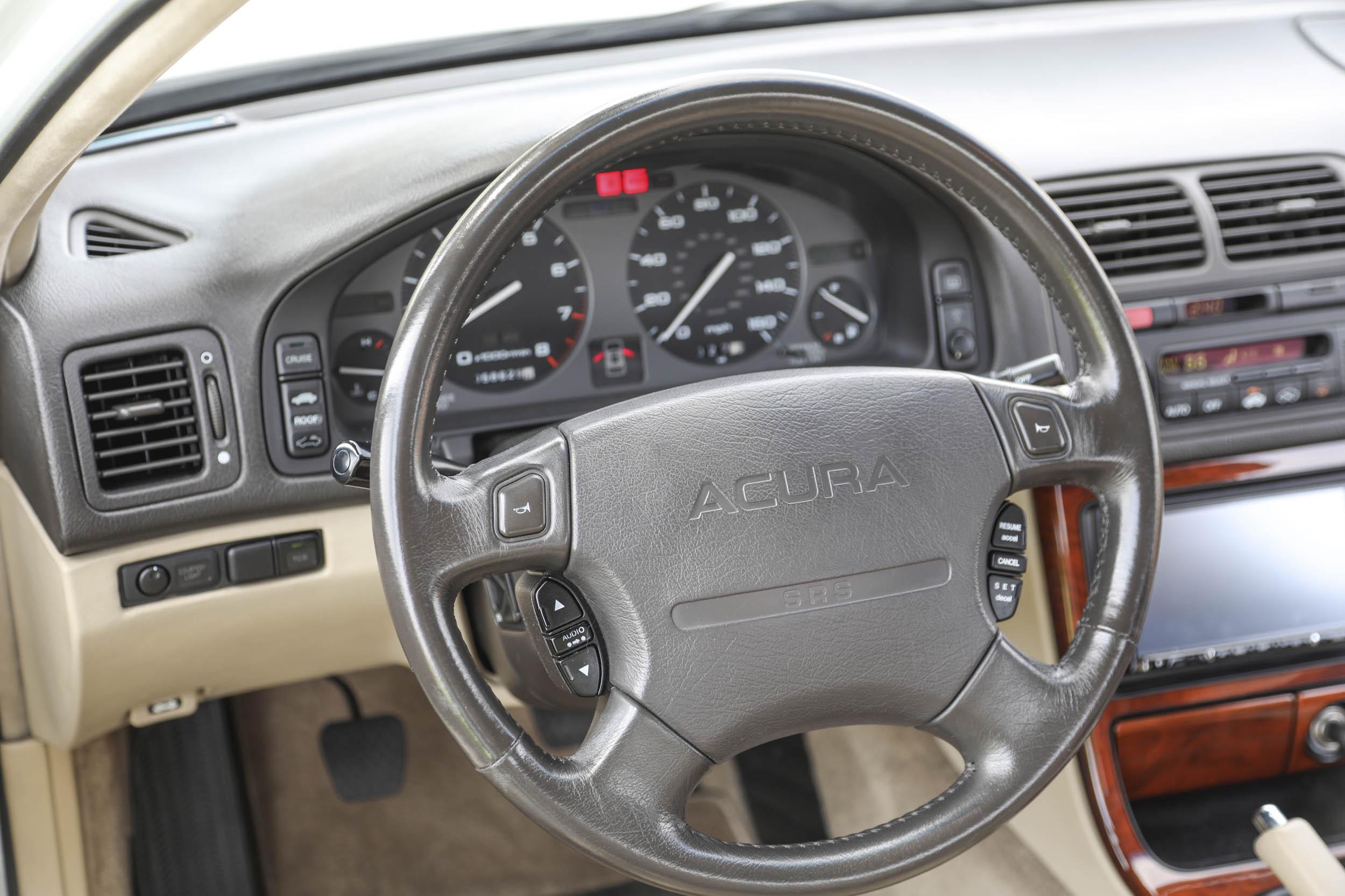 1994 Acura Legend LS steering wheel