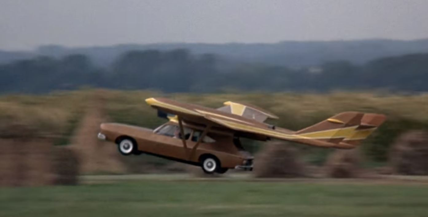 Flying AMC Matador