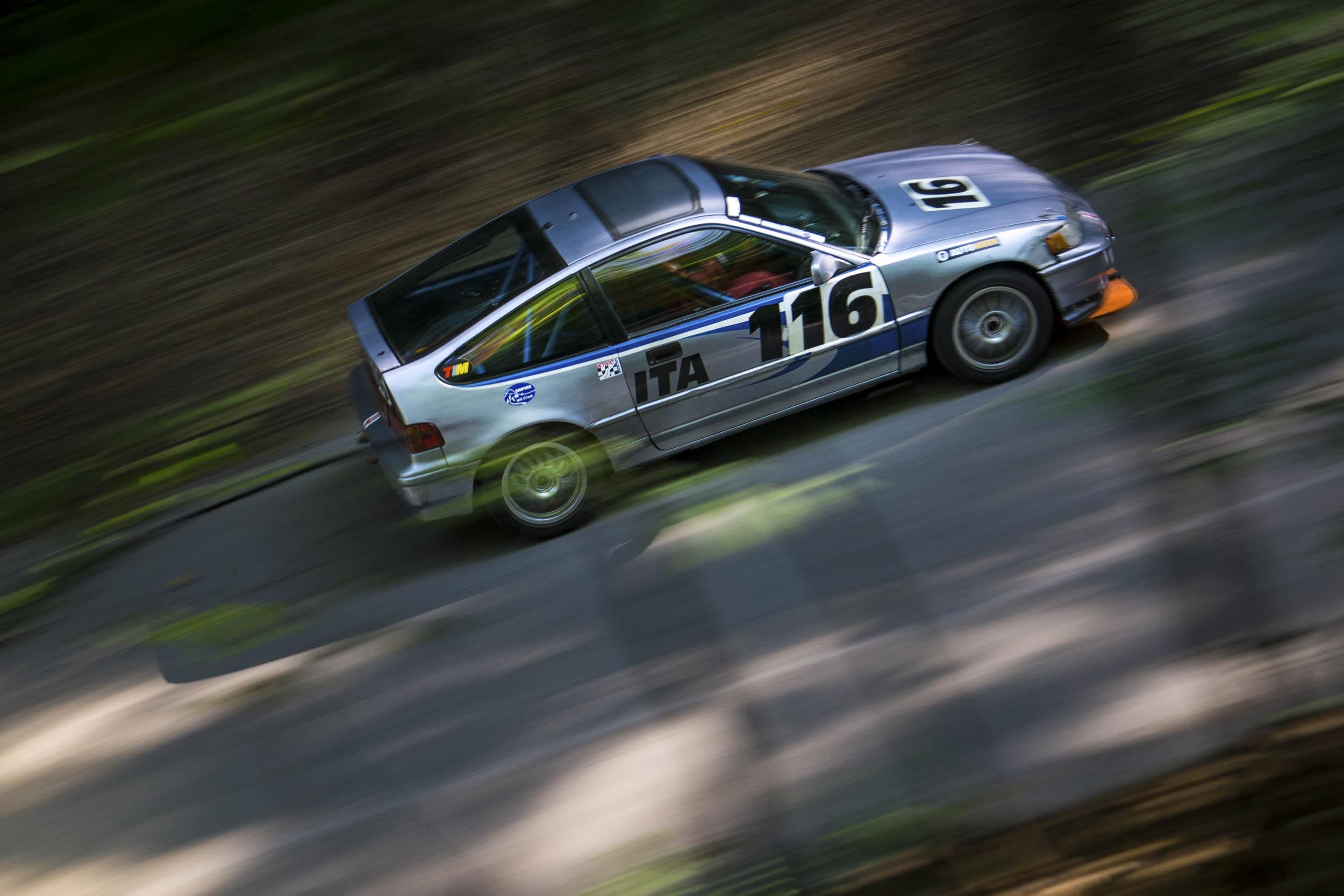 Honda CRX motion side