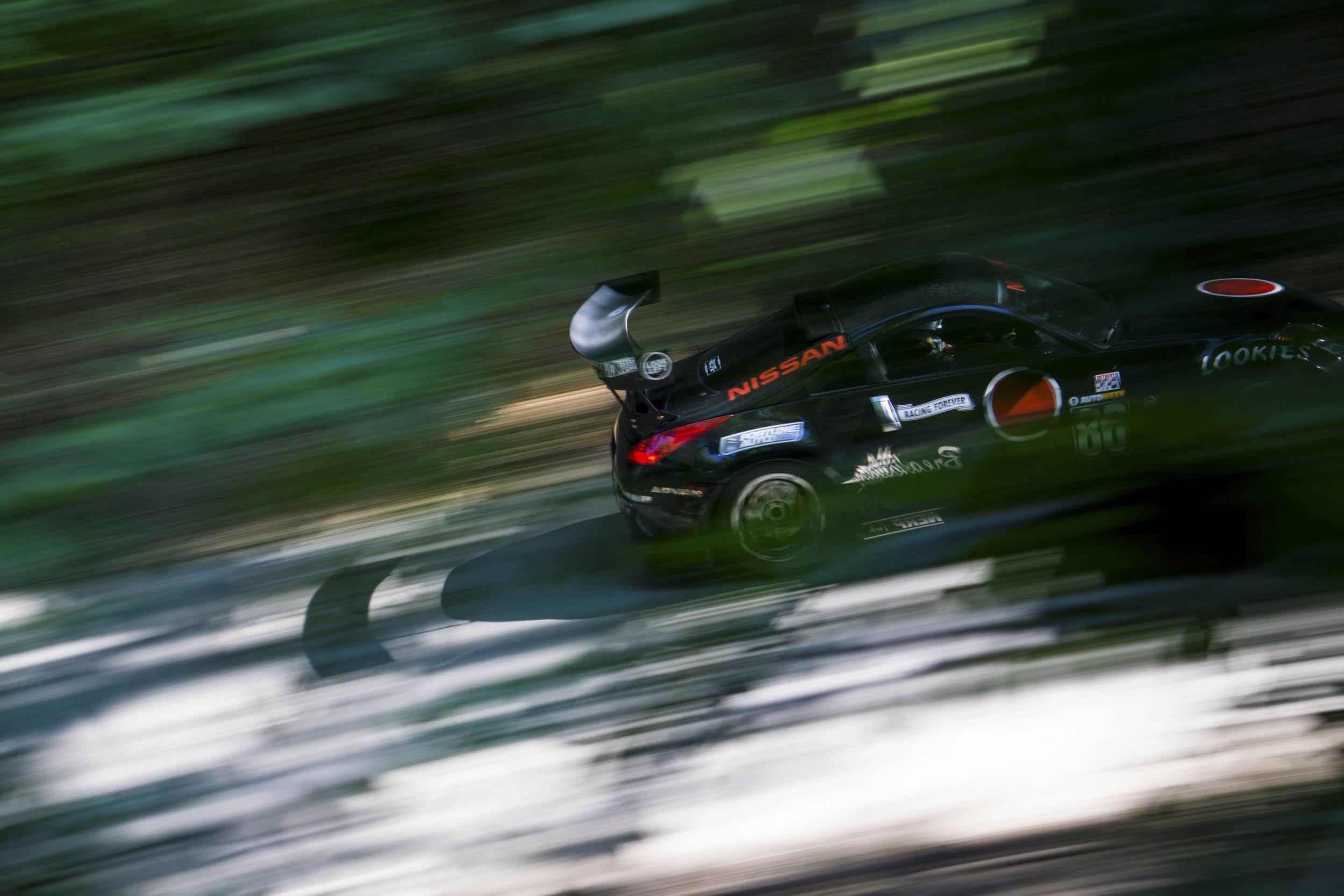 Nissan 350Z blur