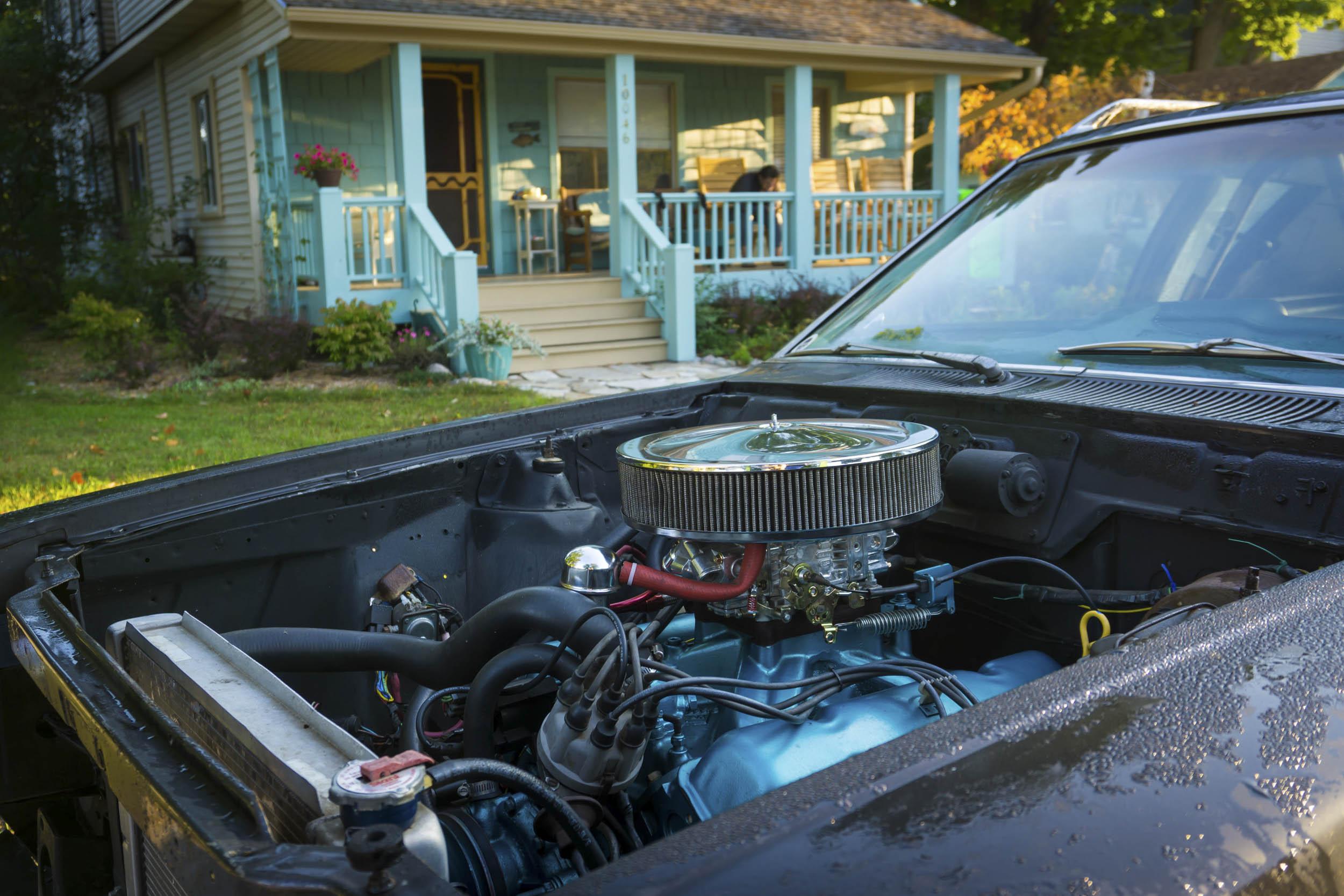 AMC Gremlin 1973 engine