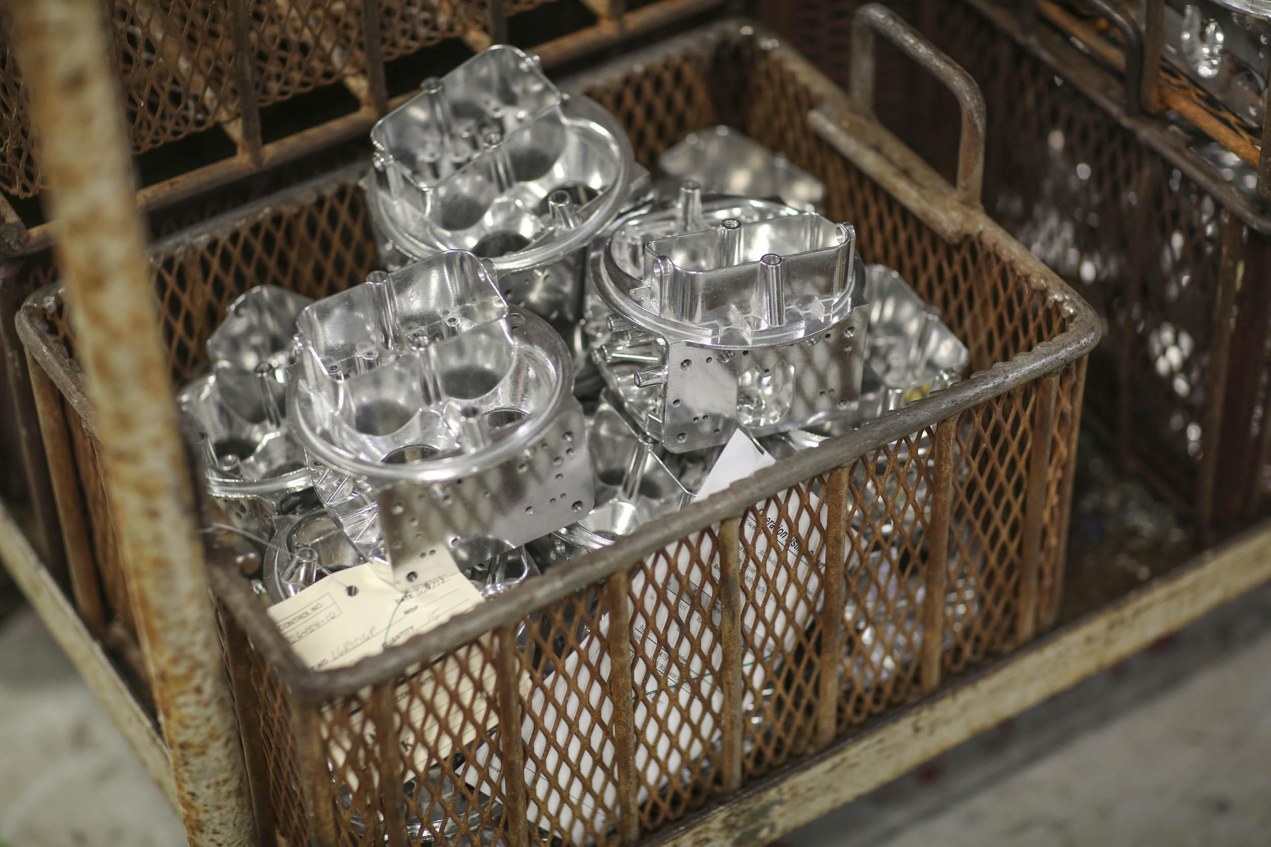 Holley carburetor machine shop