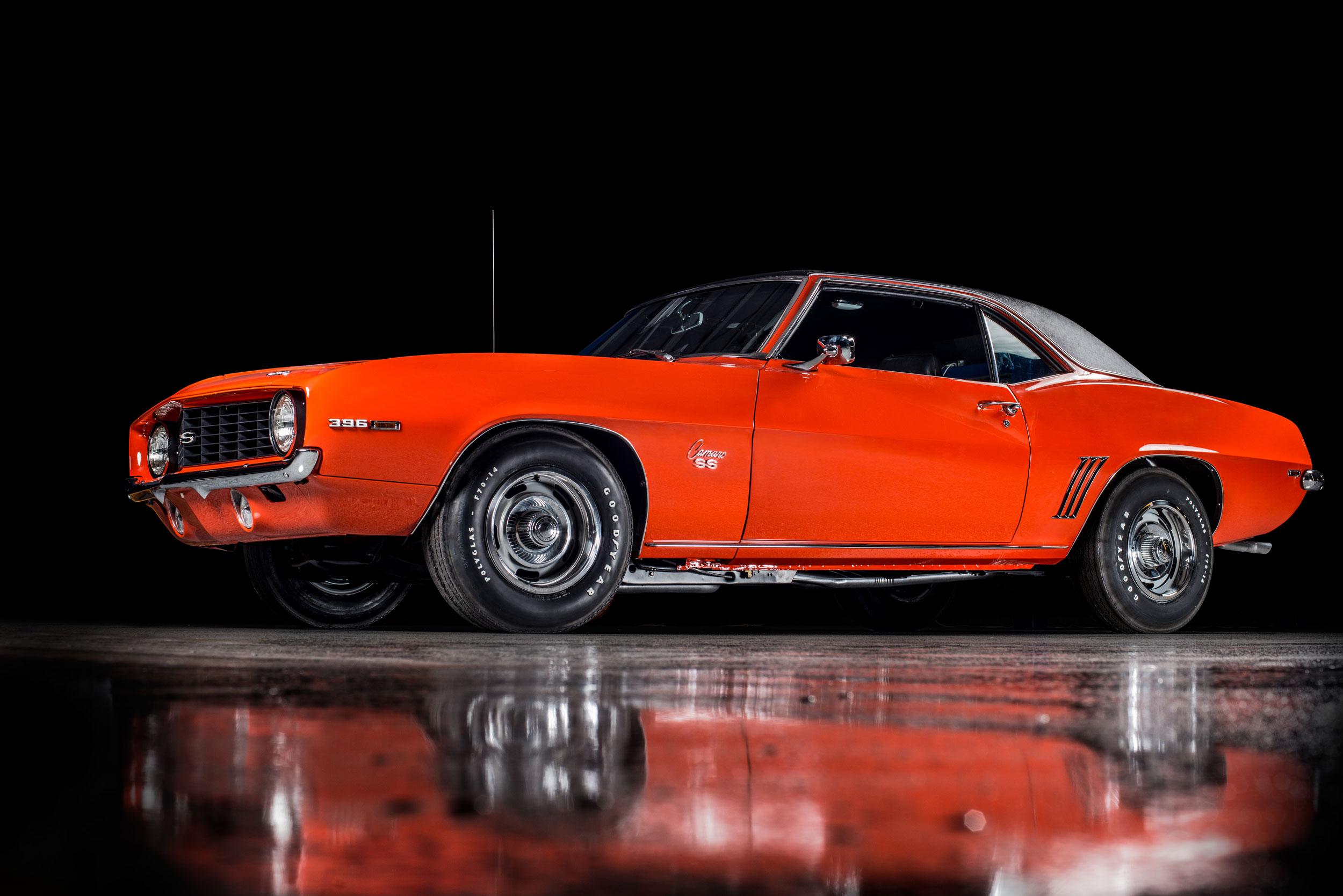 1969 Chevrolet Camaro low 3/4