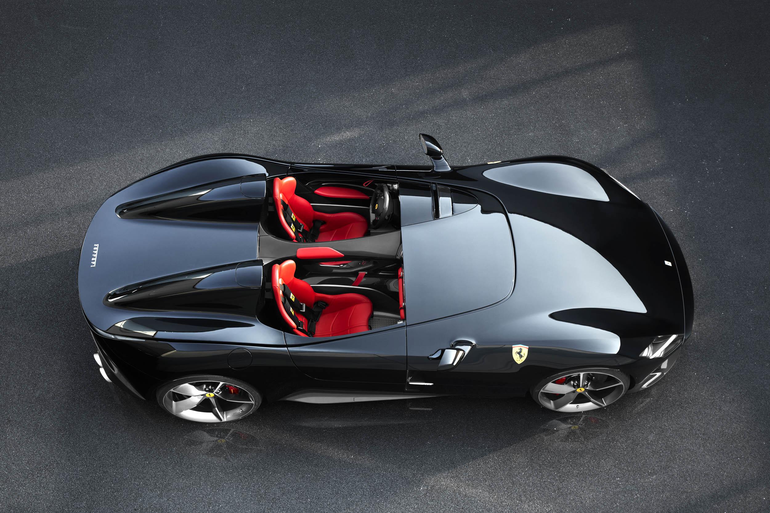 Ferrari Monza SP2 overhead