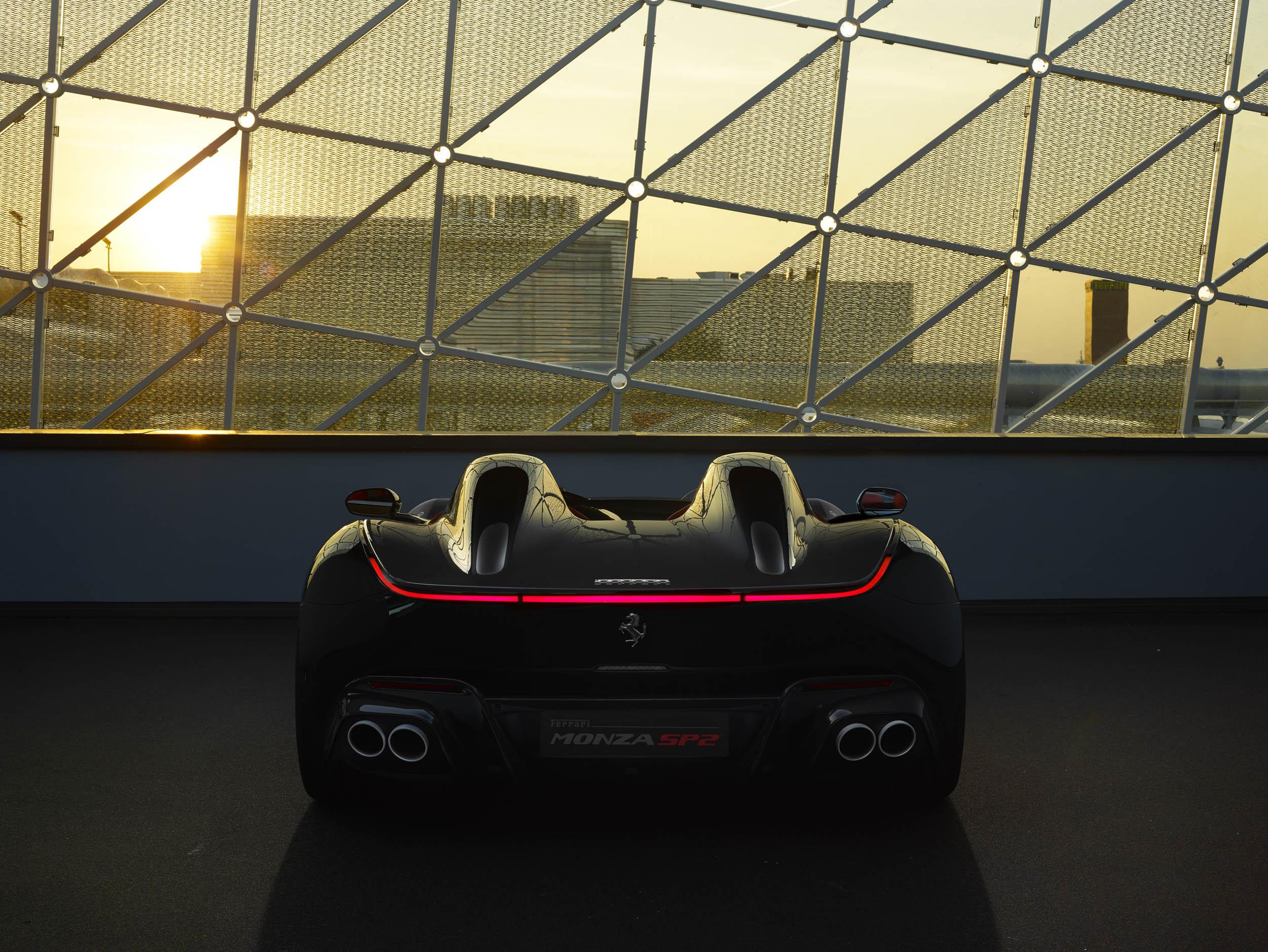 Ferrari Monza SP2 rear