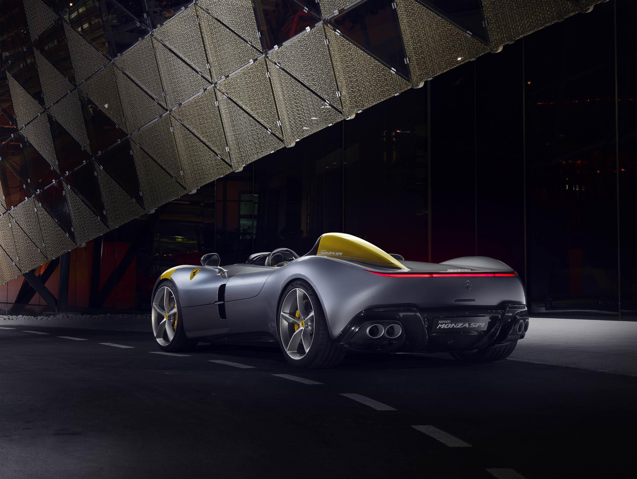 Ferrari Monza SP1 rear 3/4