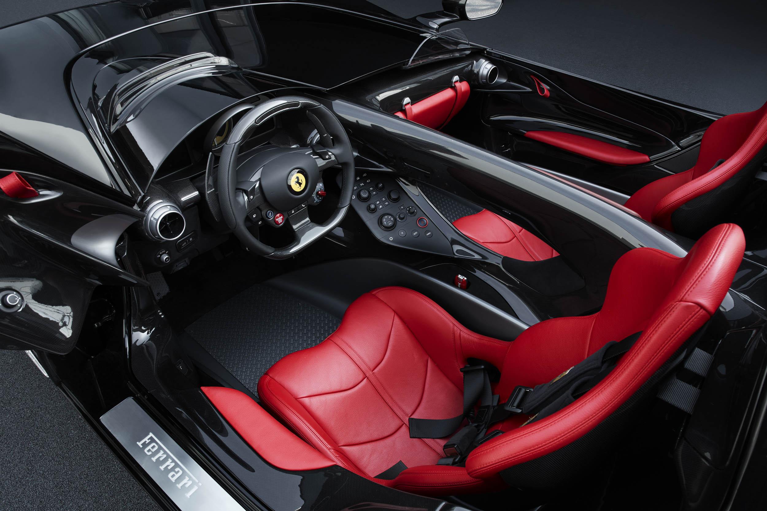 Ferrari Monza SP2 interior