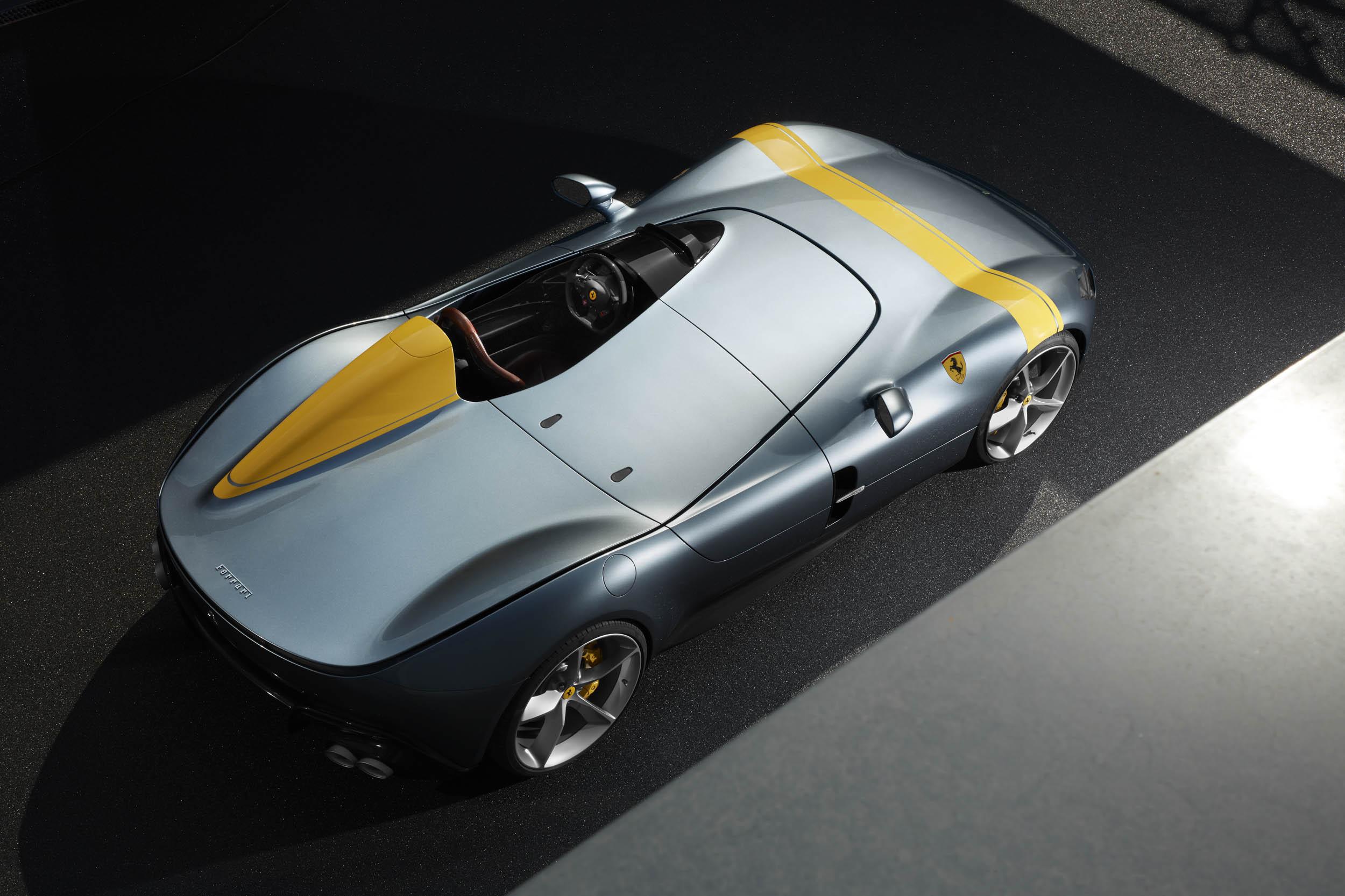 Ferrari Monza SP1 overhead