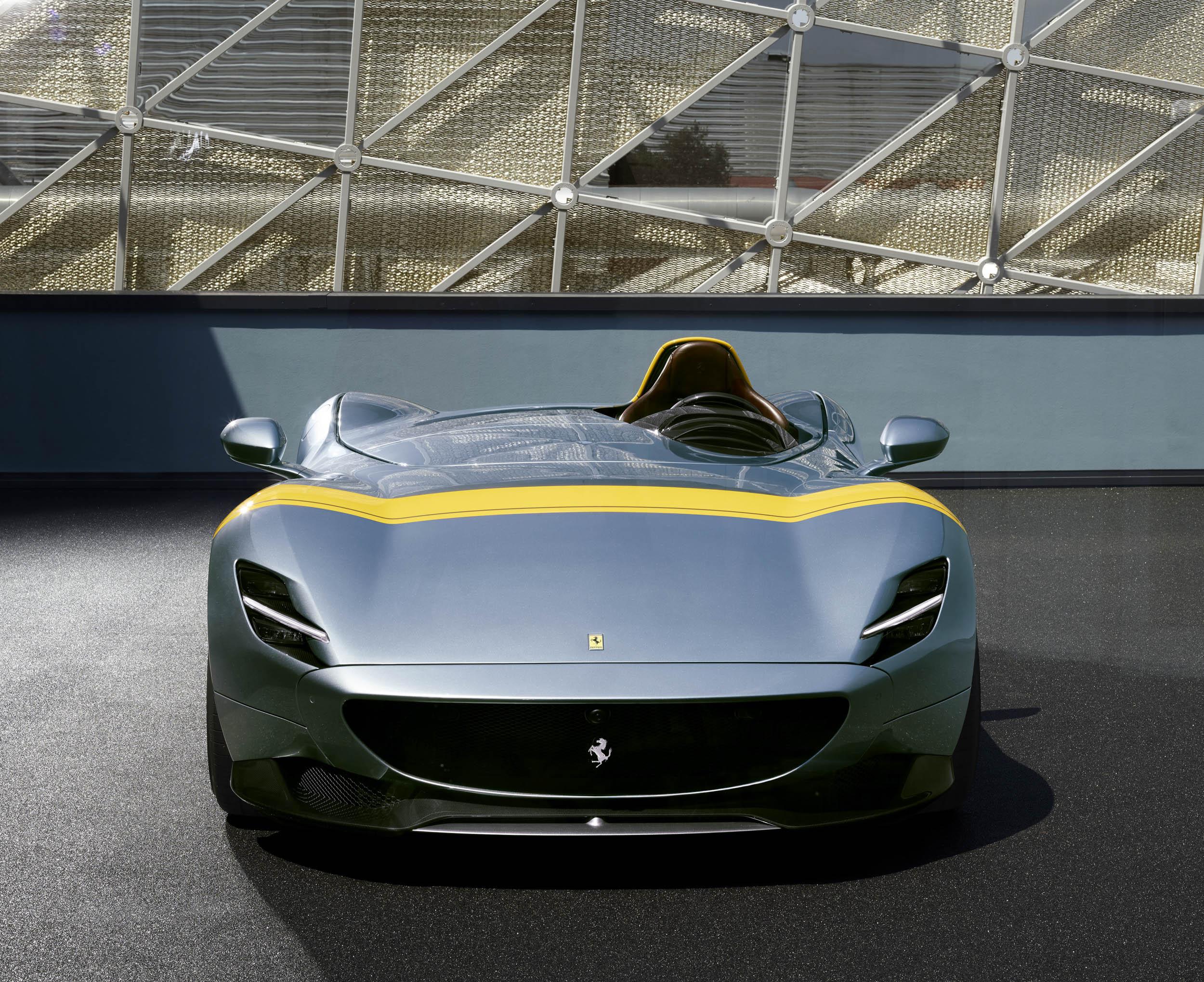 Ferrari Monza SP1 front