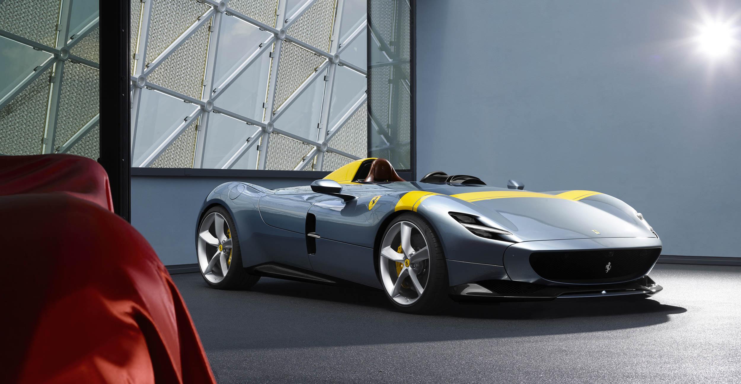 Ferrari Monza SP1 front 3/4