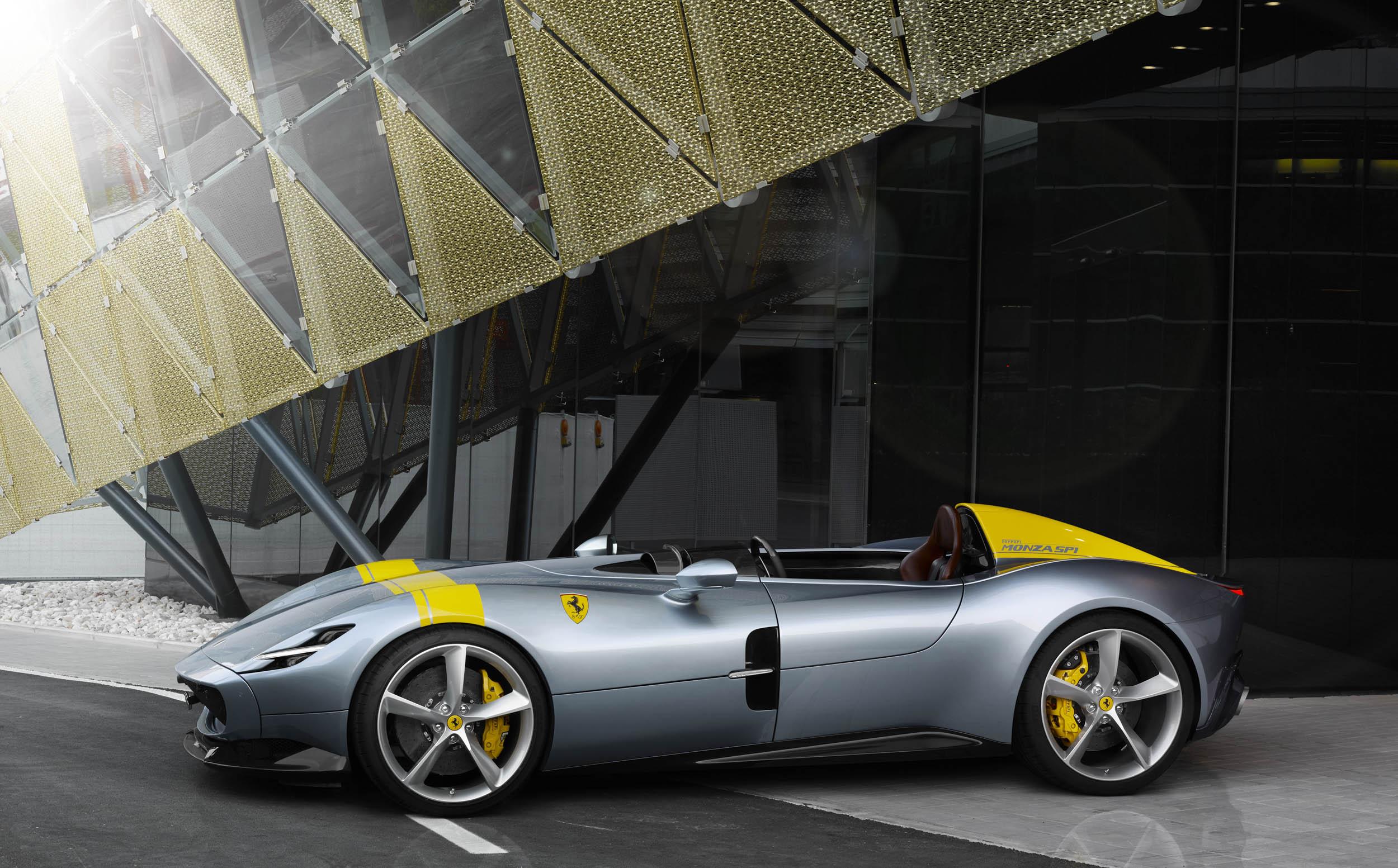 Ferrari Monza SP1 profile