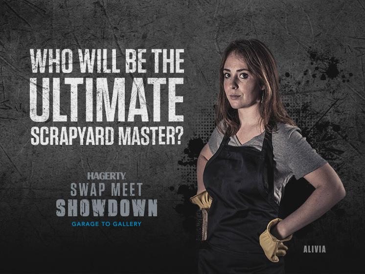 Hagerty swap meet showdown 2018 alivia