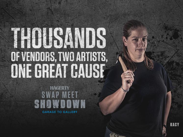 Hagerty swap meet showdown 2018 kacy