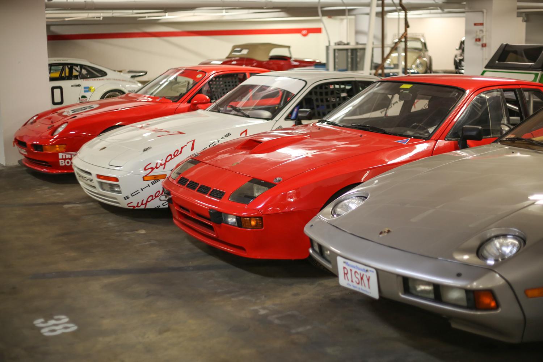 Porsche Petersen vault 924 race car