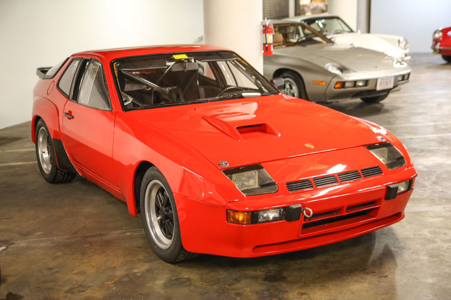 One of only 59 built, this 924 Carrera GTS is set apart by its unique headlights.
