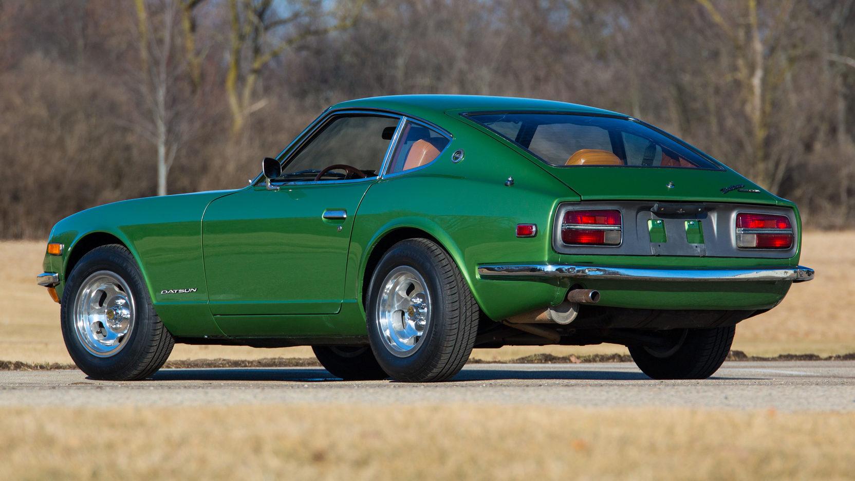 1972 Datsun 240Z rear 3/4