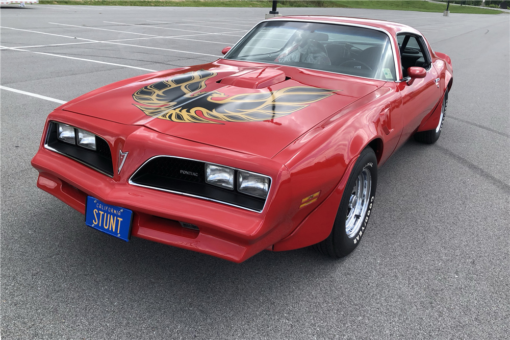 """1978 Pontiac Firebird Formula """"Hooper"""" Re-creation front 3/2"""