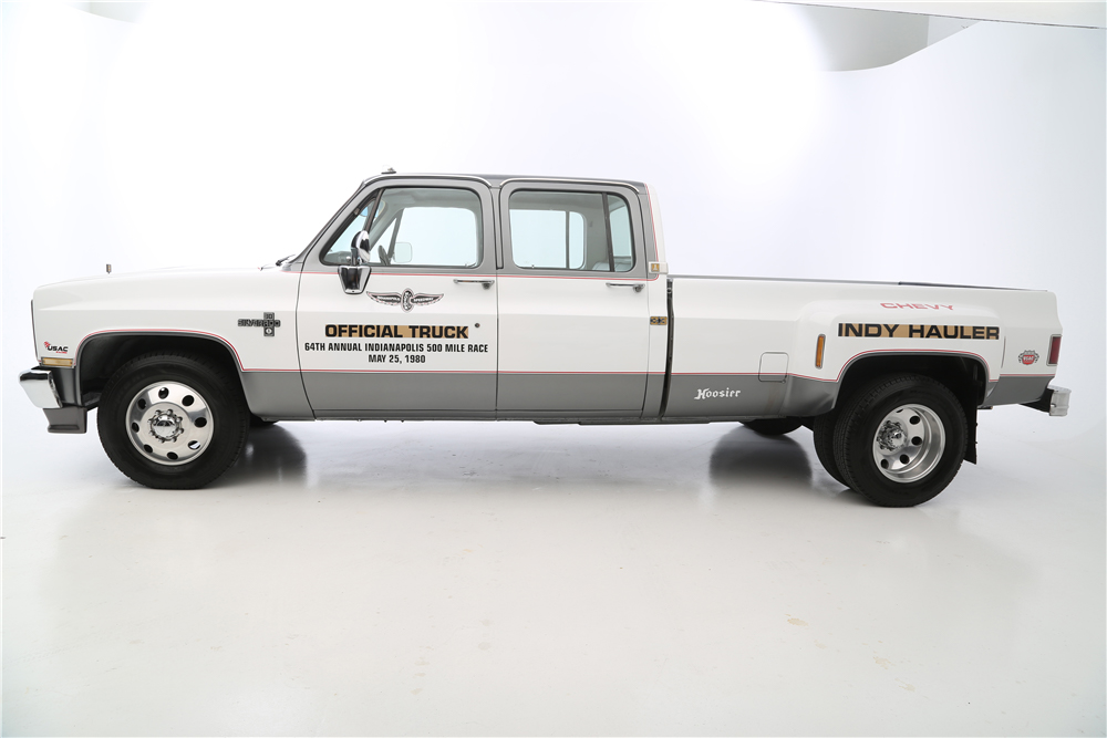 """1987 Chevrolet R30 Pickup """"Cannonball Run"""" Re-creation side profile"""