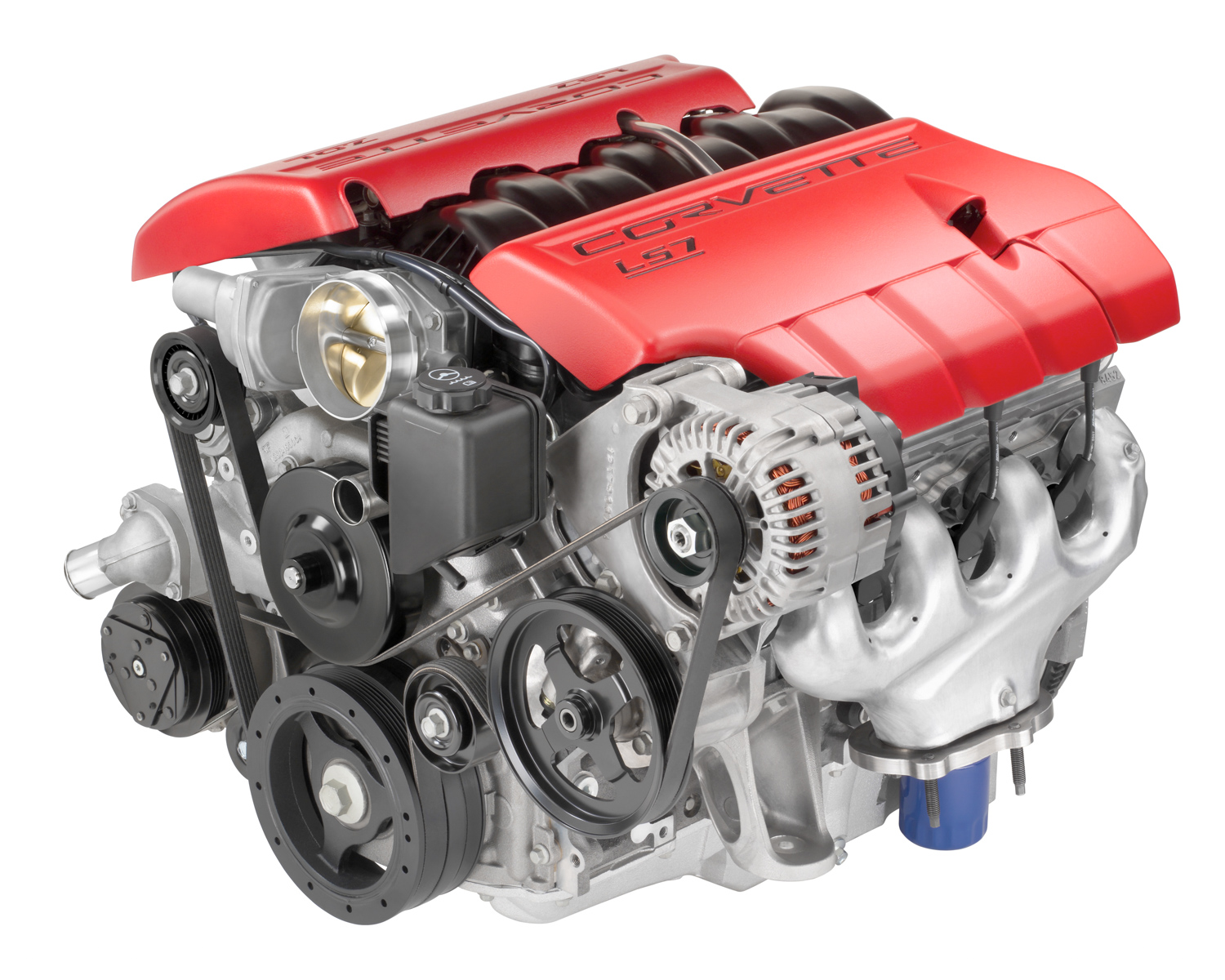 LS7 small block engine