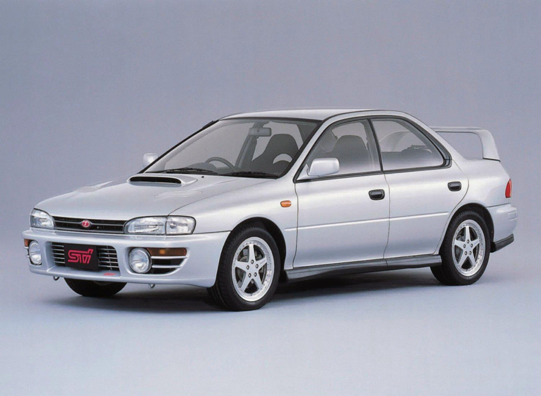 Subaru WRX STi press photos