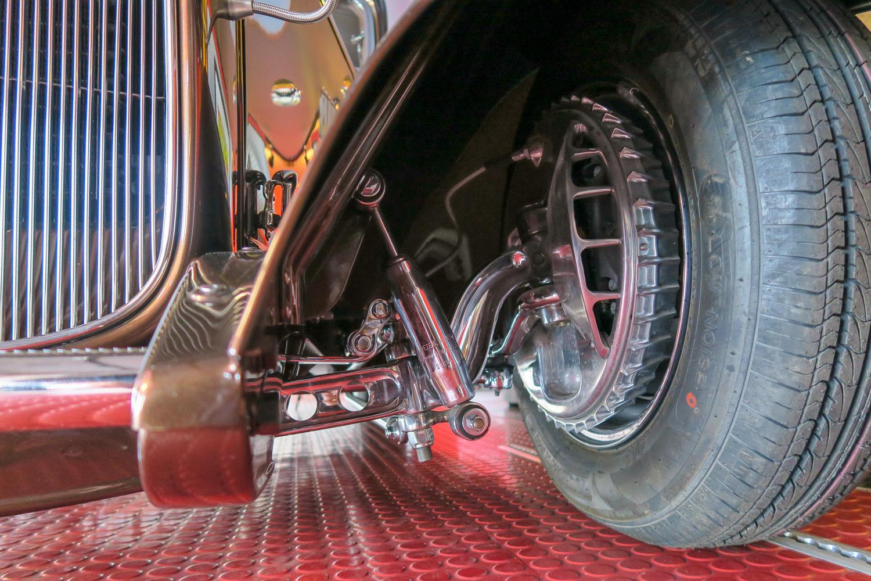 Finned Buick brakes