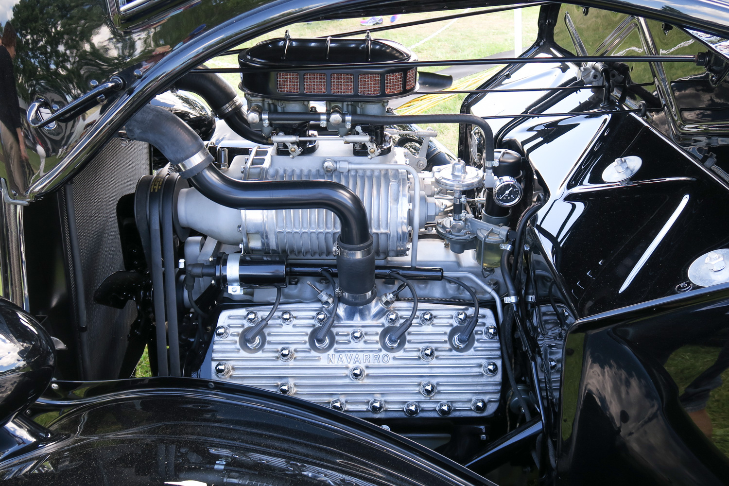 Ford Flathead V-8 supercharger