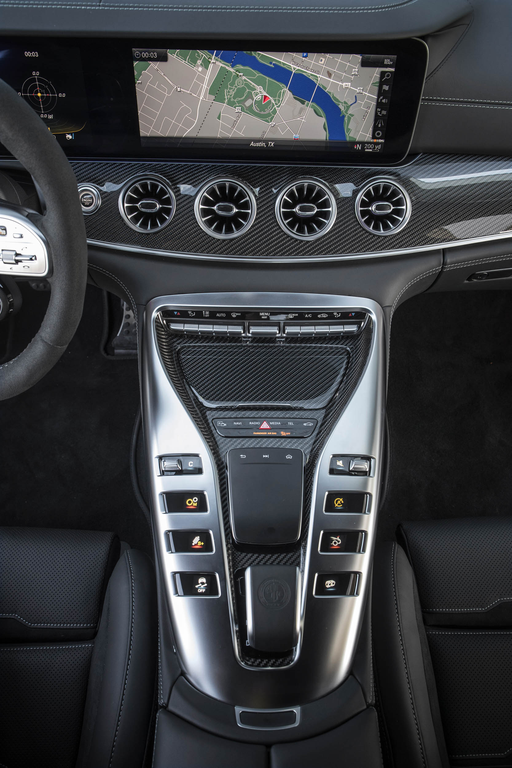 Mercedes-AMG GT 63 S center console