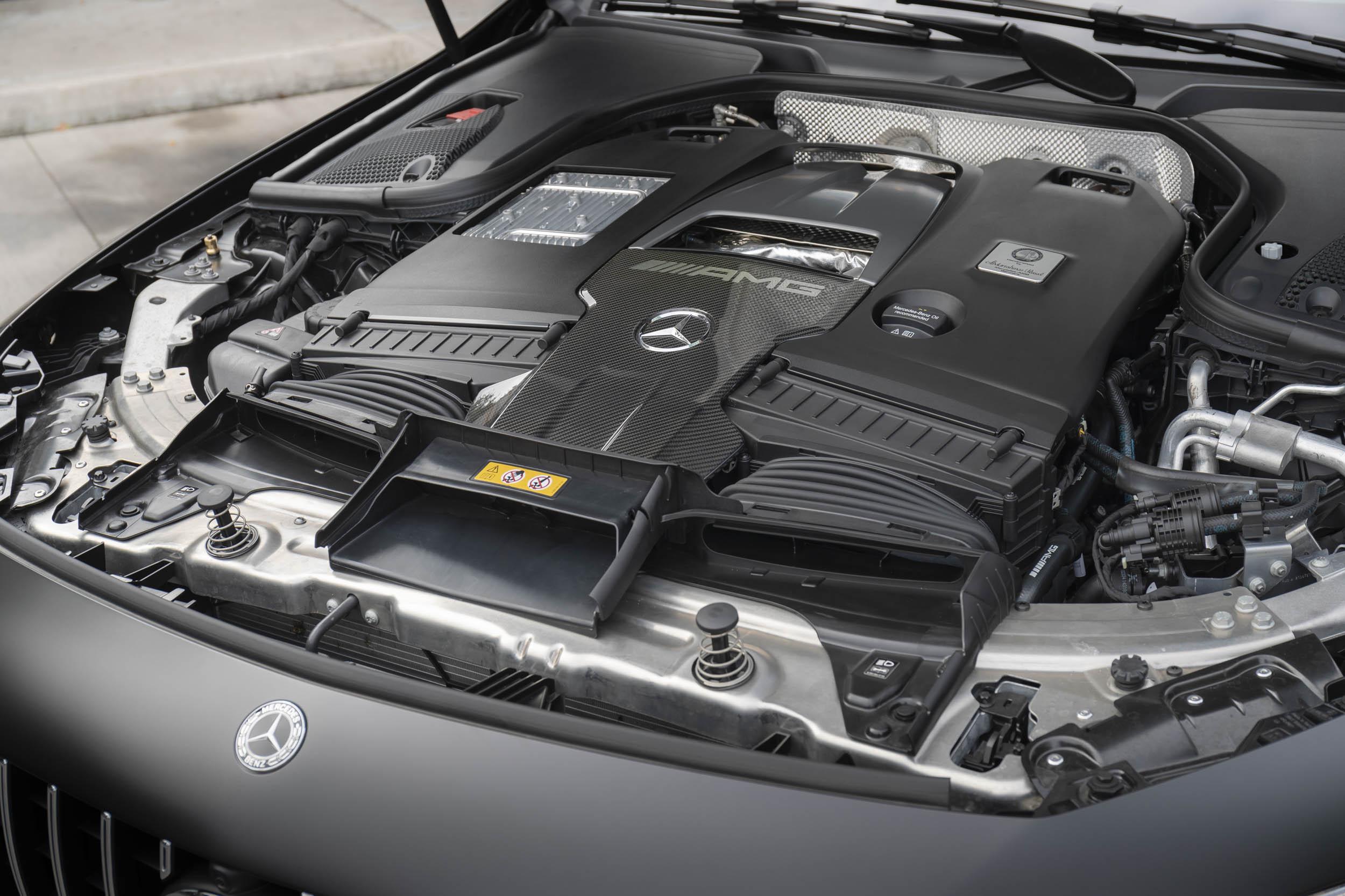 Mercedes-AMG GT 63 S engine