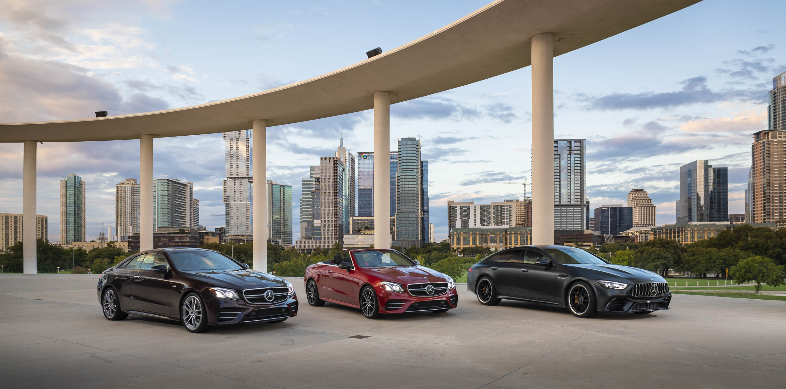 Mercedes-AMG GT 63 S coupe, sedan, and convertible options