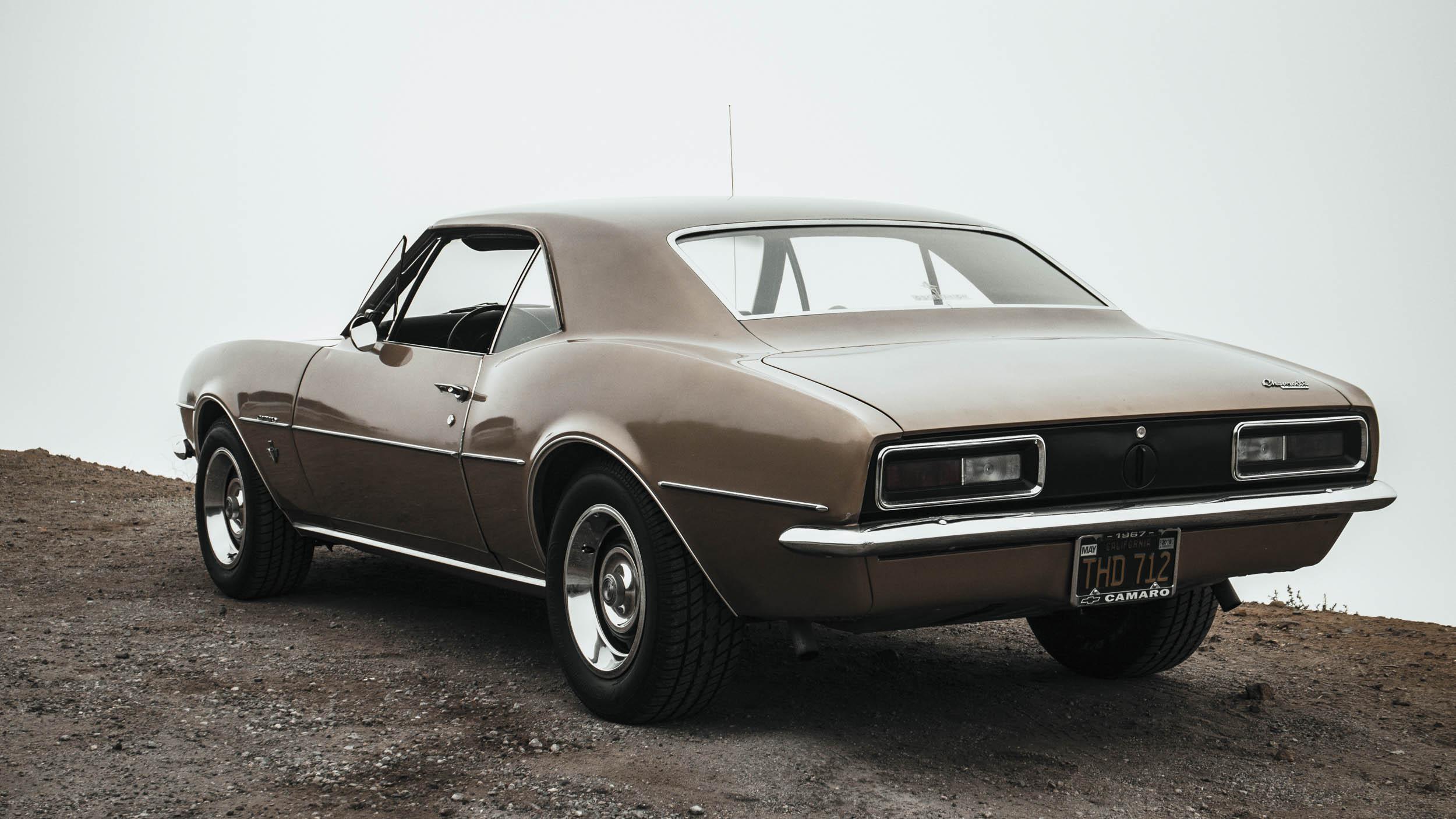 1967 Chevrolet Camaro rear 3/4