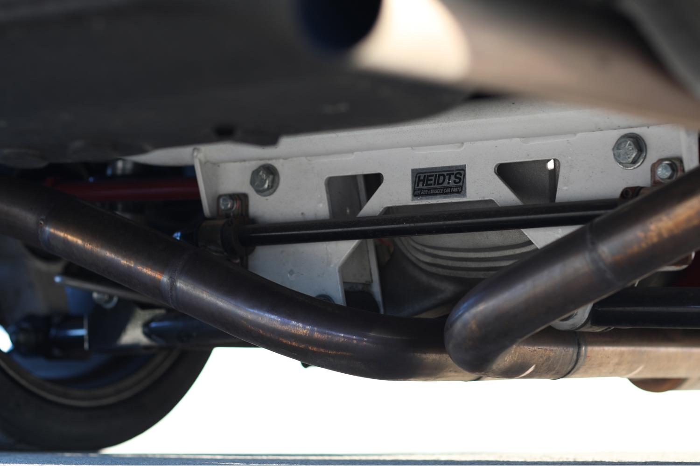 Heidts Suspension Camaro IRS under car