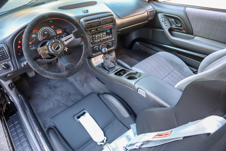 Heidts Suspension Camaro IRS interior