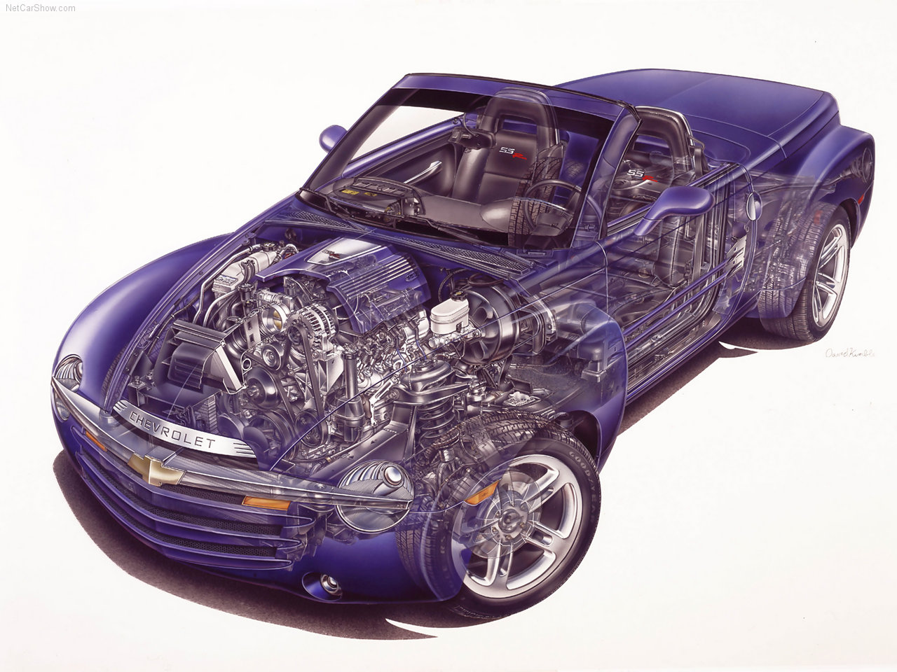 2003 Chevrolet SSR technical view
