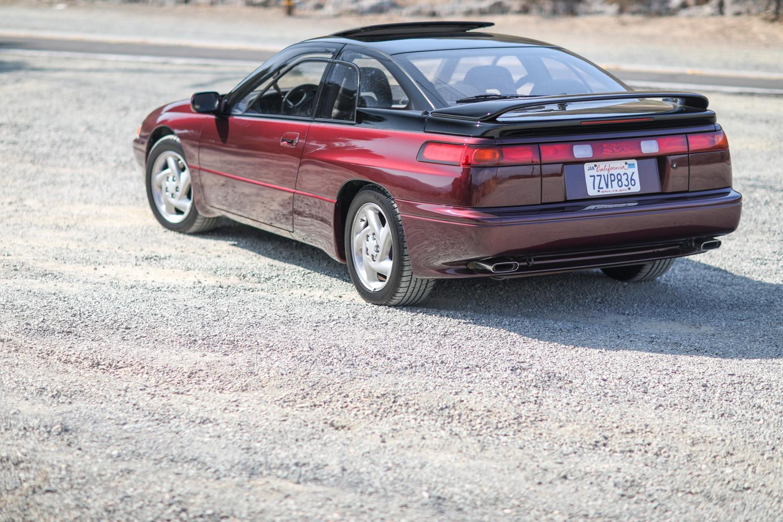 clarion builds 1992 subaru svx 3/4 rear driver