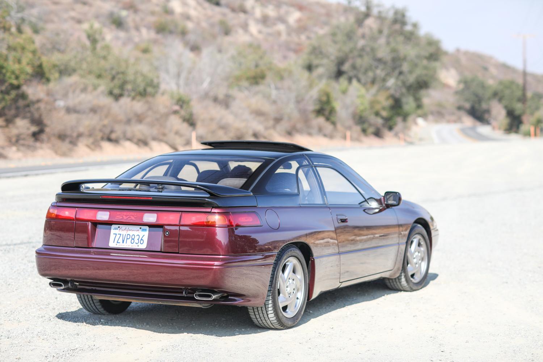 clarion builds 1992 subaru svx 3/4 passenger rear