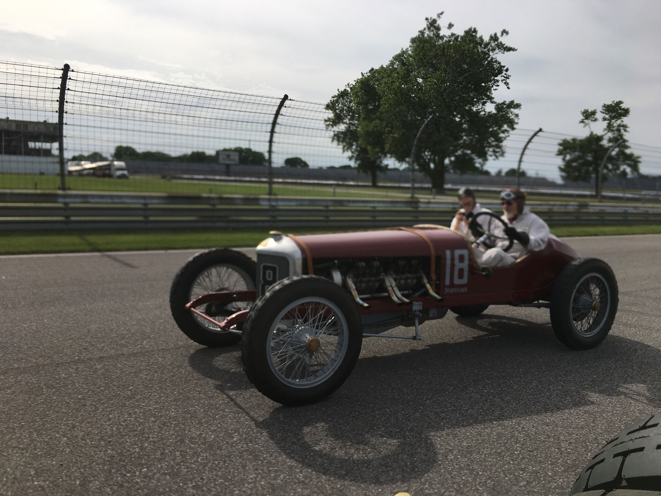 1916 Sturtevant-Auburn Romano Special racing